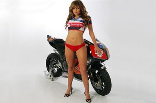 a well known bike and honda fireblade