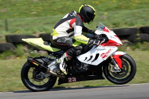 Mark in action at Pembrey