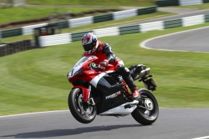 Carl Fogarty in action