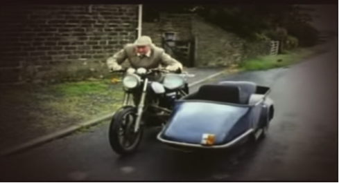 Stephen Lewis had scenes with sidecars in both Buses and Summer Wine