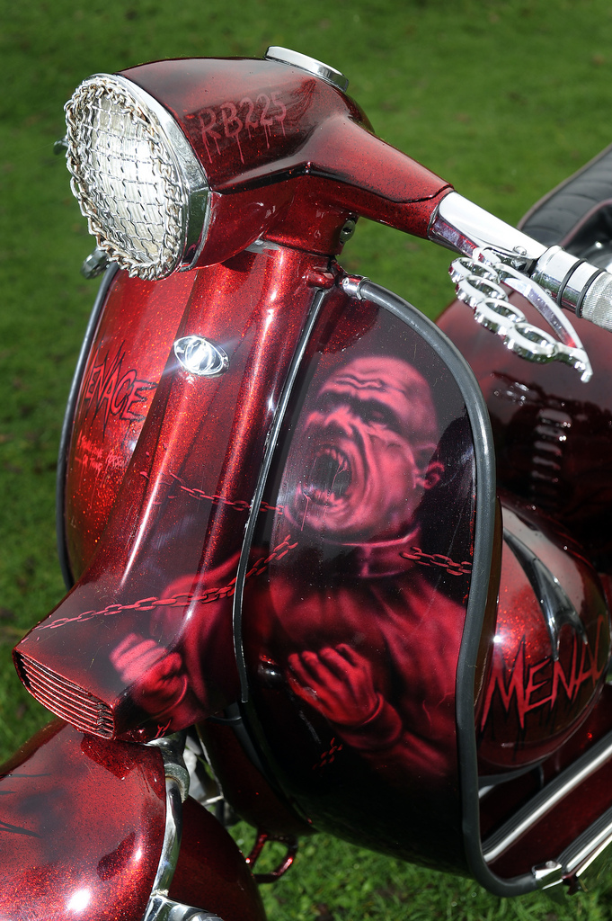 Lambretta custom paint