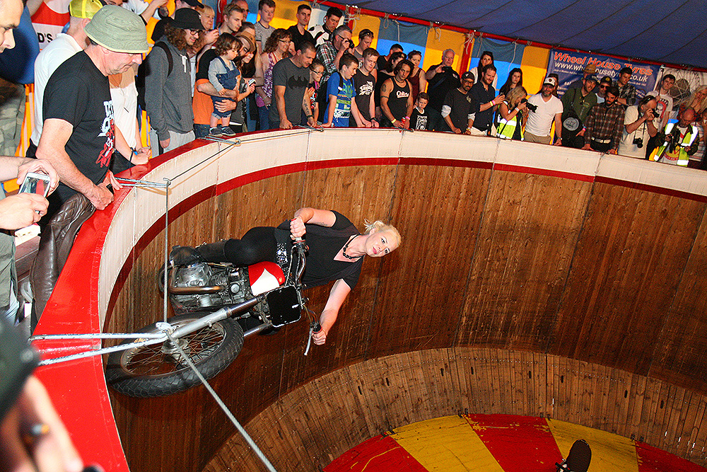 Ken Fox Wall of Death Dirt Quake V