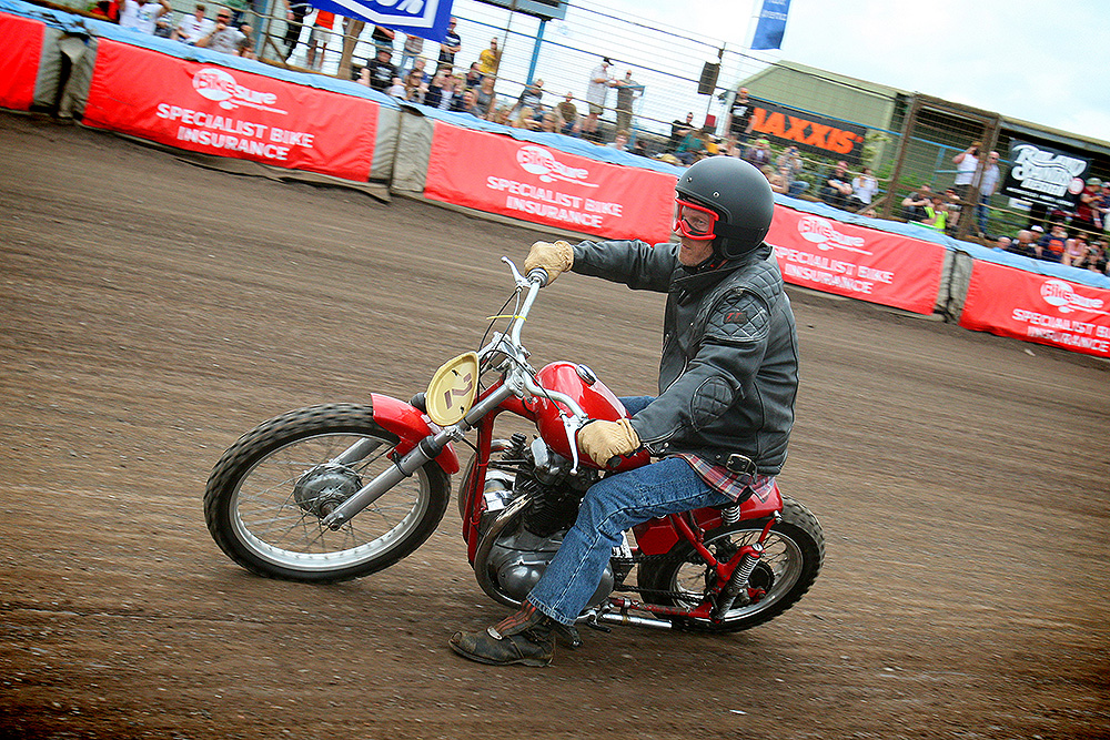 Action from Dirt Quake V