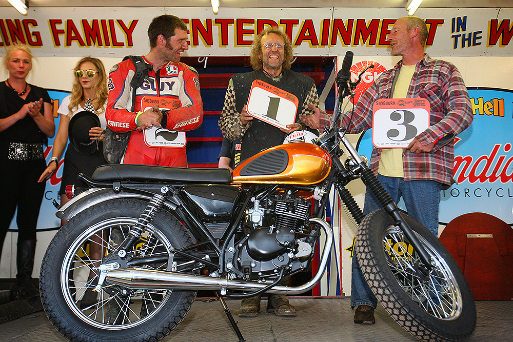 Guy Martin runner up Dirt Quake V