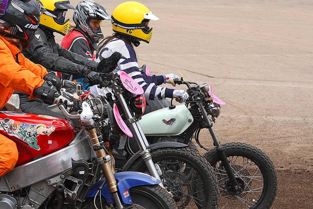 At the start line Dirt Quake V