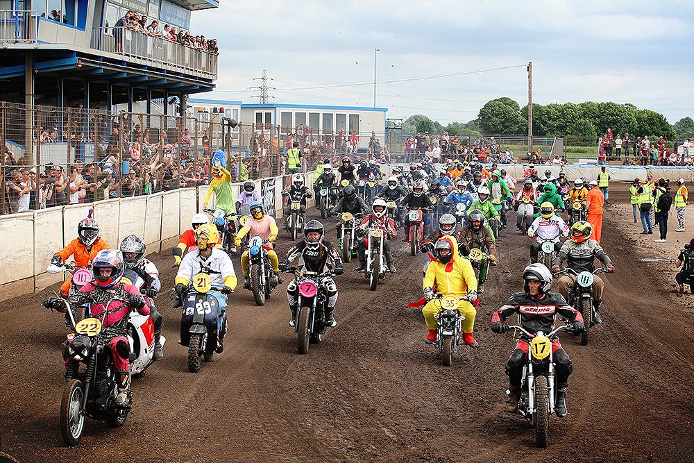 Big field in race at Dirt Quake V