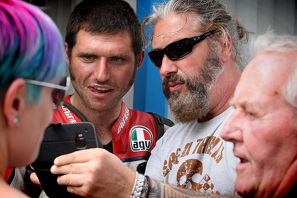 Guy Martin at Dirt Quake V