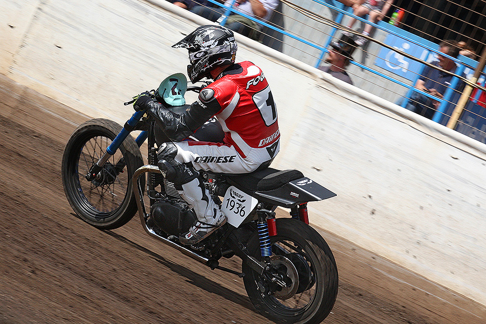 Carl Fogarty racing at Dirt Quake V