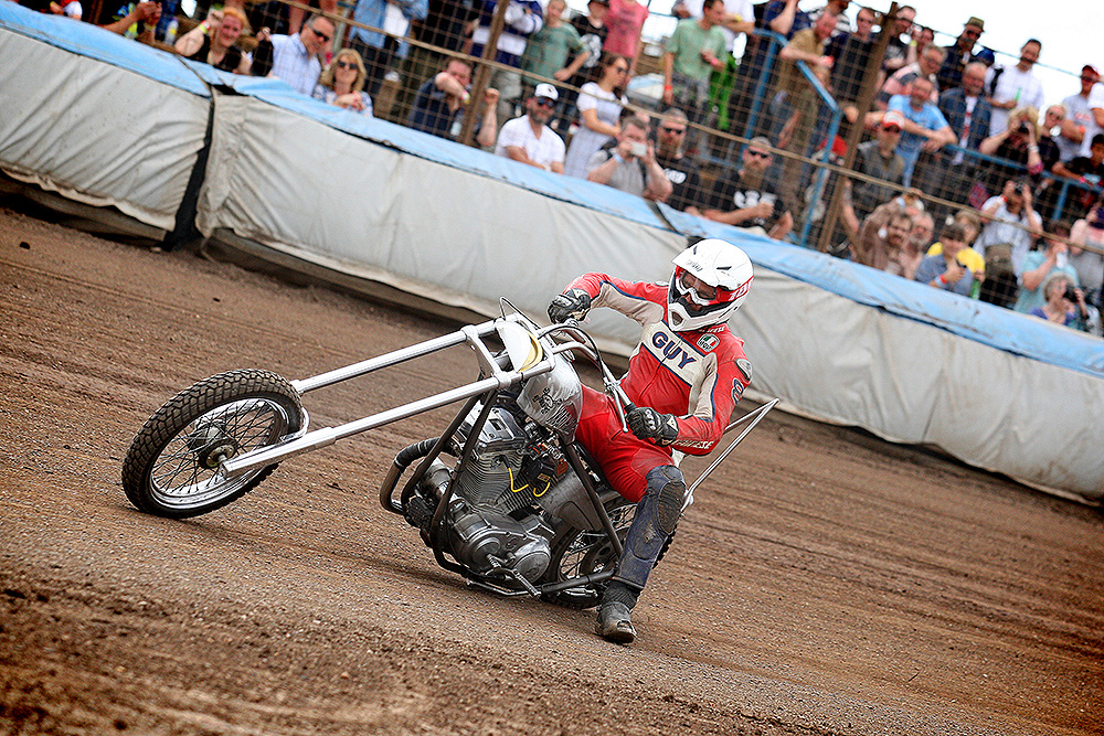 Guy Martin chopper Dirt Quake V
