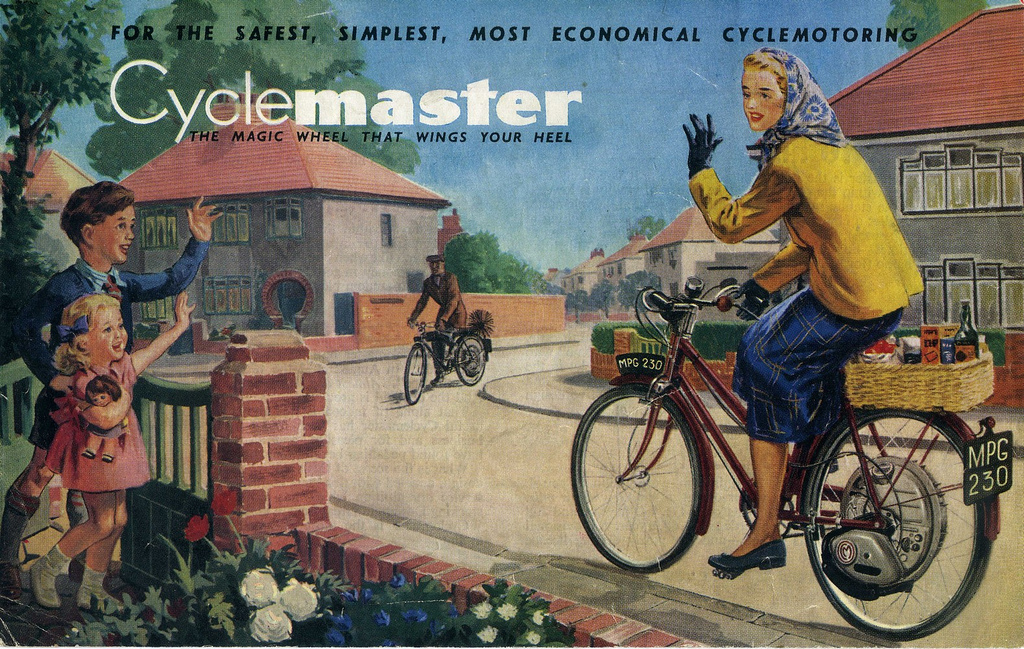 cyclemaster advert