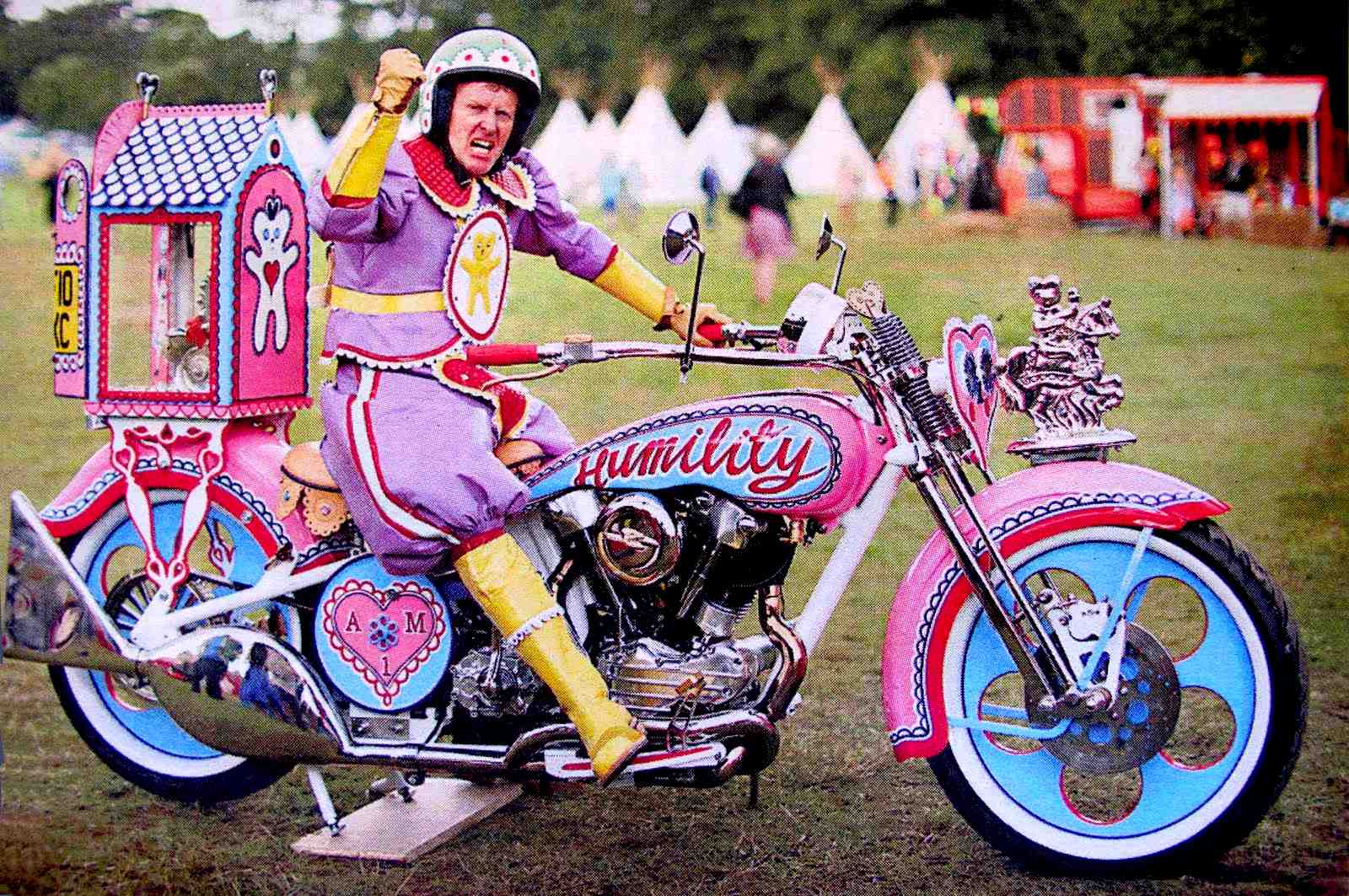 Grayson Perry custom motorbike