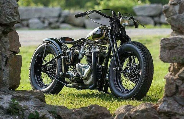 Motorcycle bobber