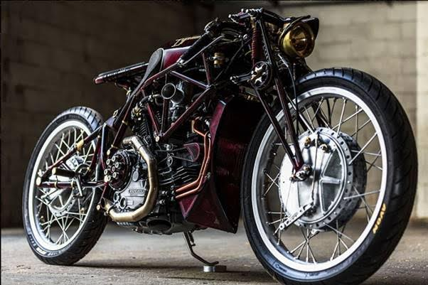 Ducati customised by Old Empire Motorcycles