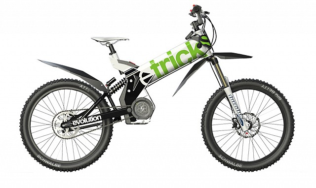eTricks electric motorcycle