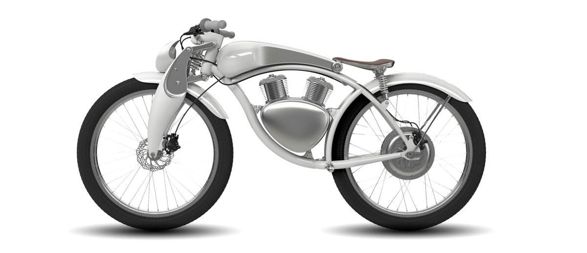 Munro electric motorbike