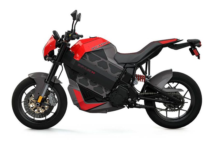 Victory electric motorbike