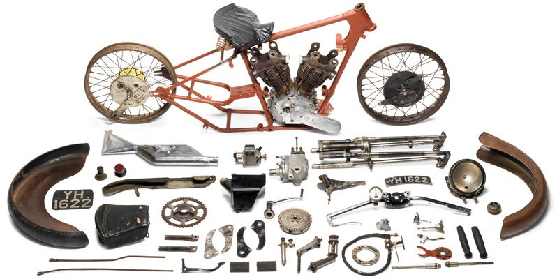 Brough Superior project auction