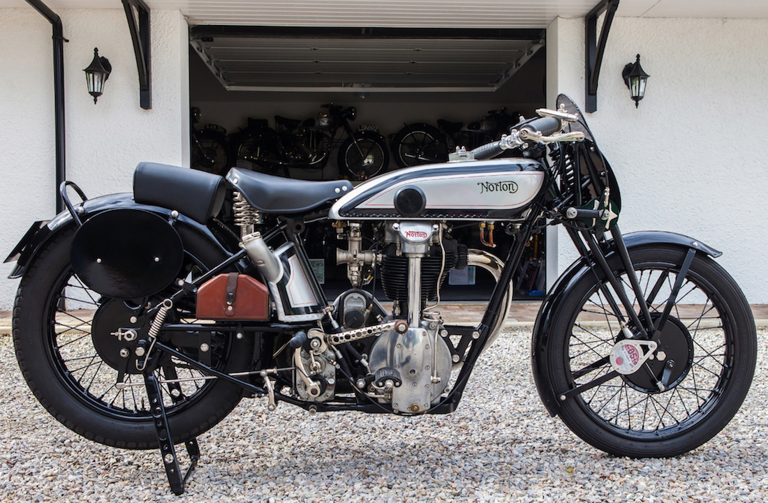 Norton enthusiast ian loram shares the highlights of his for The norton