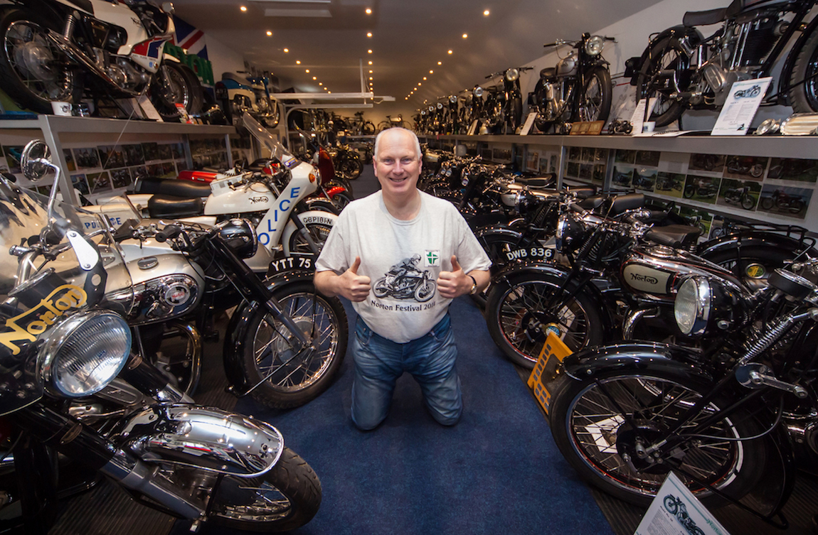 norton enthusiast ian loram shares the highlights of his vintage