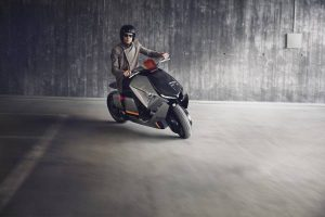concept electric motorcycle