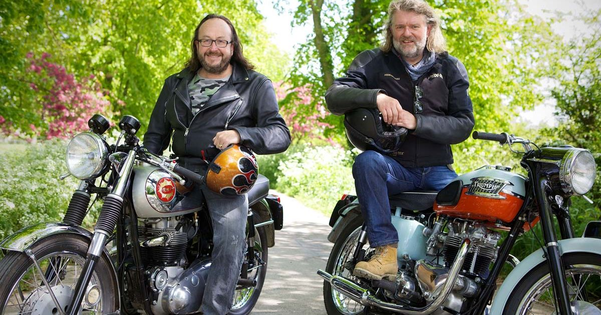 Classic motorcycles on TV