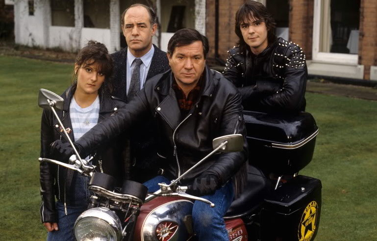 Classic motorcycles on TV soaps, cop shows and documentaries