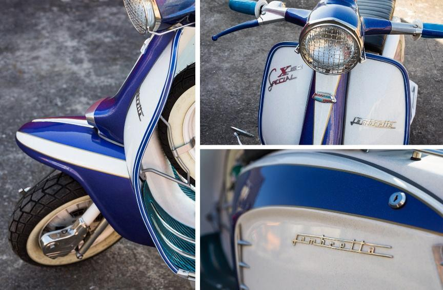 scooterist Paul Davies shares his collection