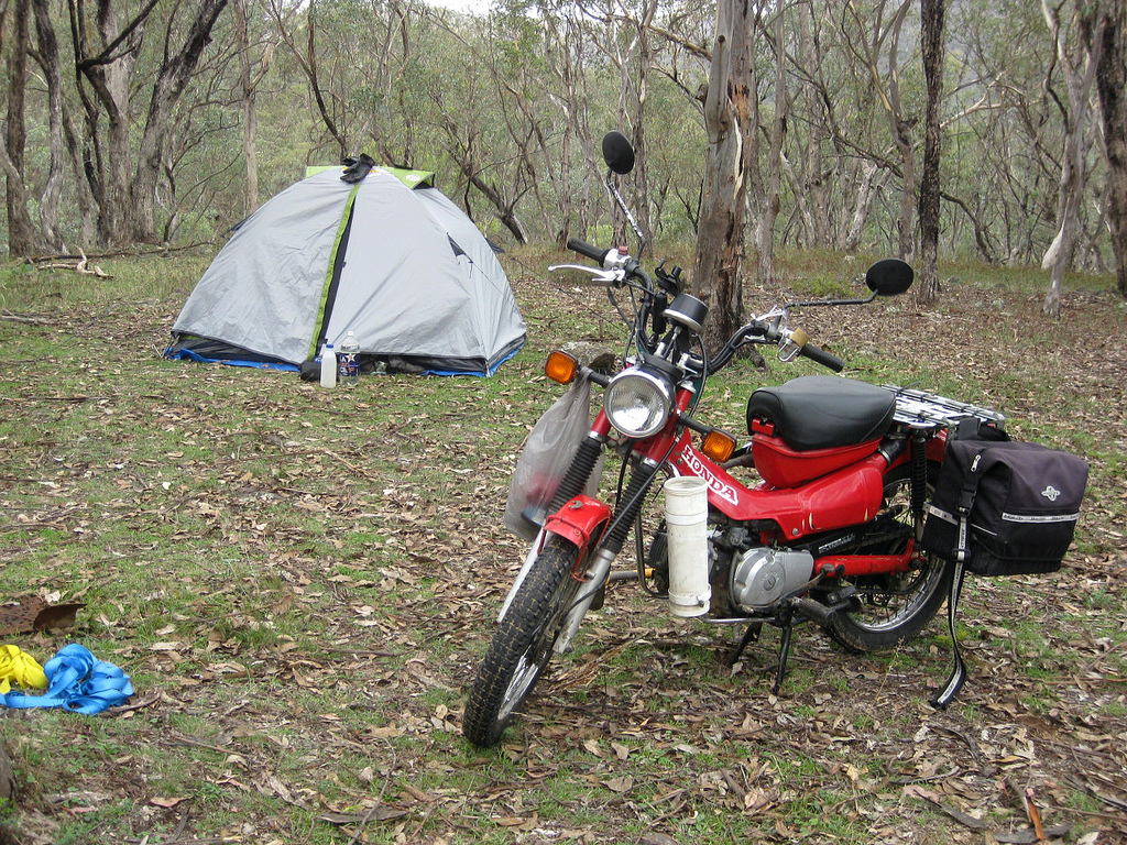 & Six of the best two-person motorcycle touring tents