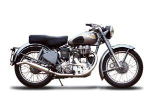 Near-classic motorbikes