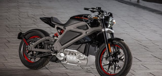all-electric Harley-Davidson