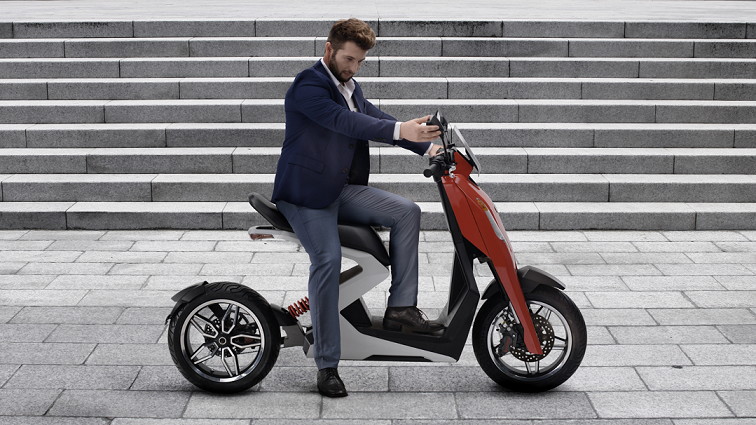 Zapp electric scooter - new commuter bike 'torque of the town'