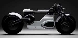 electric motorcycle - curtis
