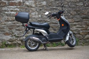This is a moped