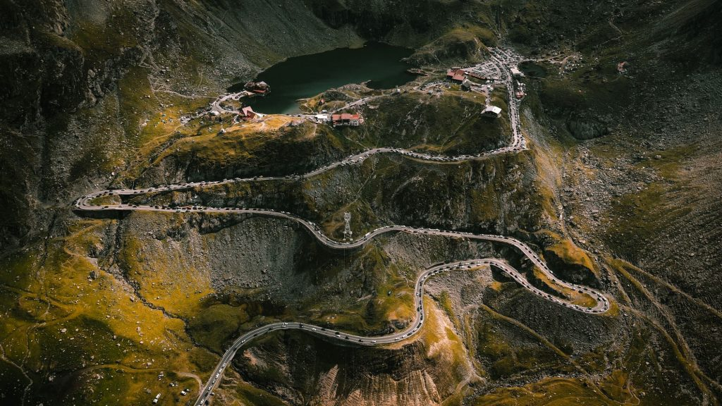 transfagarasan - one of the best European bike trails