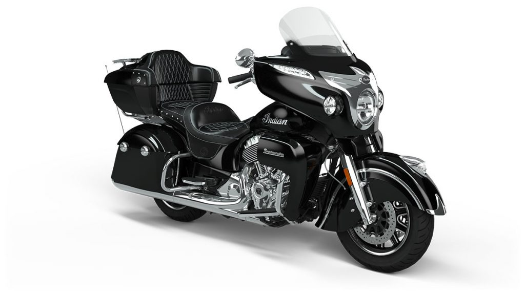 Indian Roadmaster on a white background