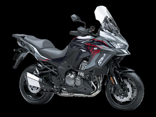 Kawasaki Versys 1000S on a white background