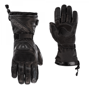 RST Moto Paragon 6 Heated Waterproof Gloves displayed on a white background