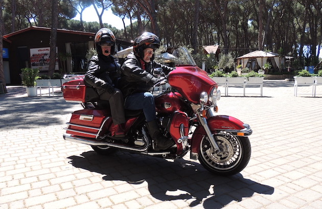 Paul and Gill Major Harley